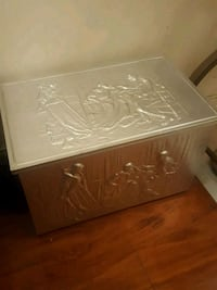 Silver wooden chest Richmond Hill, L4S