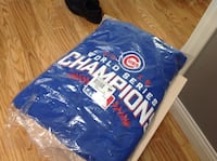 Chicago Cubs hoodie (blue) Chicago, 60647