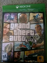 Grand Theft Auto Five Xbox One game case Albuquerque, 87121