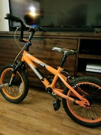 children's orange and black bicycle Escondido, 92029