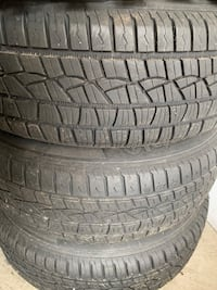 195/65/15   3 all season tires with rims Mississauga, L5M 0R2