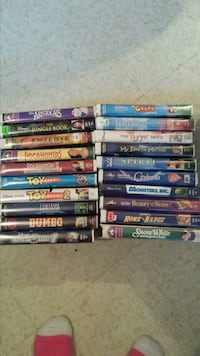 Disney vhs movies and others  $40