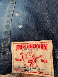 True religion jean vest Howell, 07731
