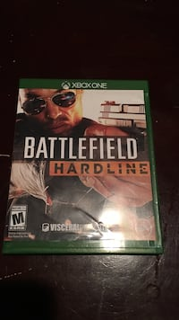 battlefield hardline Xbox One game case Marion, 49720