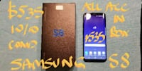$535FIRM SAMSUNG S8 VeryGoodCondition+box+AllAcces Pointe-Claire, H9R 3A3