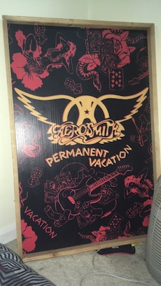 Aerosmith Permanent Vacation with brown frame