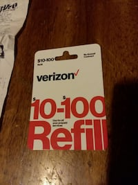 55$ Verizon Card  Des Moines, 50309