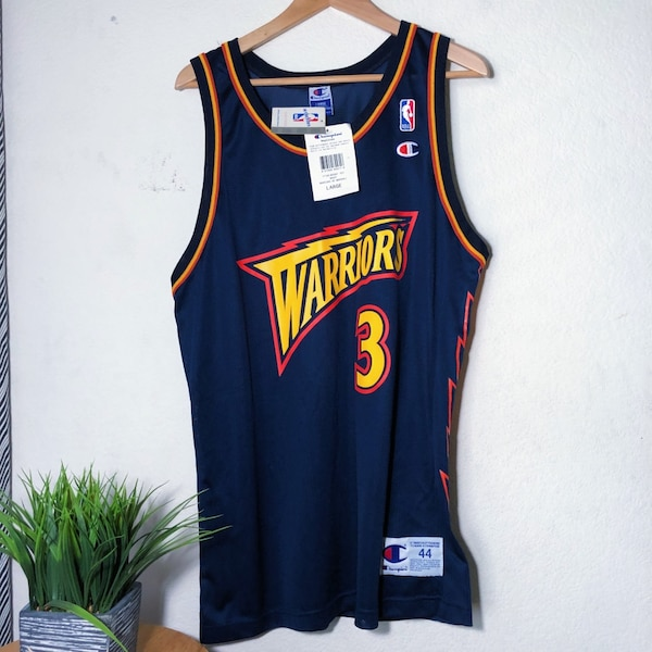 0672db9f Vintage 90's Golden State Warriors Champion Jersey Donyell Marshall Number 3