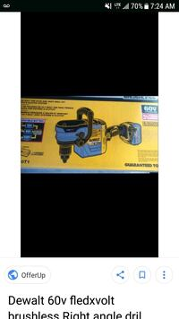 black and blue cordless power tool Del City, 73115