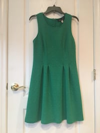 Green Scoop-neck Sleeveless Dress Gainesville, 20155