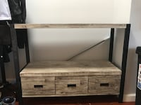 Entry way table with 3 drawers 411 mi