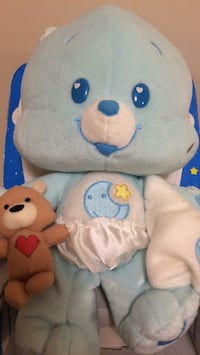white and blue bear plush toy Fairfax Station, 22039