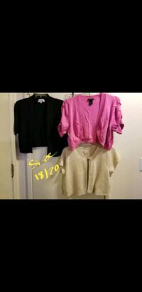 Plus size Shrugs size 18/20  Price Negotiable Vacaville, 95687