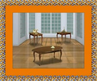 3pc Cherry coffee table Temple Hills