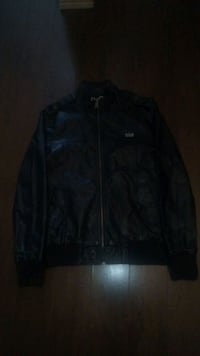 New feax leather bomber jacket size small Calgary, T2T 3J4
