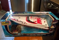 A Donzi Remote Control Speed Boat. Battery operated for ages 8+ Point Pleasant, 08742