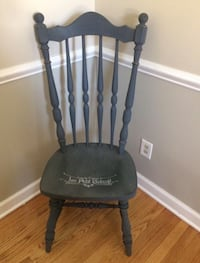 Chalk painted gray chair Bel Air, 21014