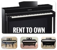Rent to Own Yamaha Piano for Rent $69 per Month Arlington, 22207