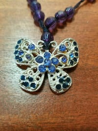 Blue Butterfly Necklace North Richland Hills, 76182