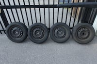 Tires with Rims: Goodyear m+5 American Eagle: Size - P195 60R {Size14} 85T 569 km
