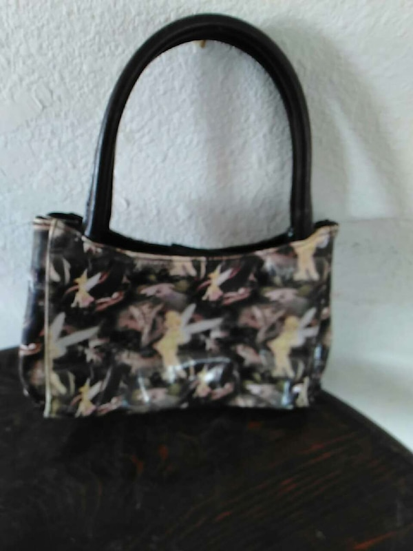 94814ed75a Used black and white tinkerbell tote bag for sale in Flora Vista - letgo