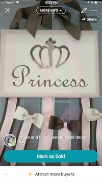white and pink wooden wall decor Moreno Valley, 92553