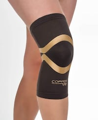 New Unused Copper Fit Pro Series Performance Compression Knee Sleeve, M Toronto, M5M 1Y3