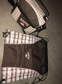 Roots gym bag and lunch box  Laval, H7X