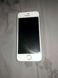 silver iPhone 5s with case Visalia, 93292