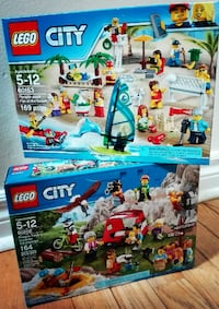 Lego City People Pack 2 New Sets