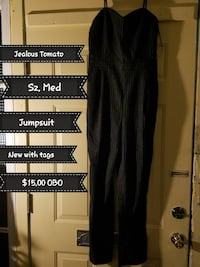 black spaghetti strap jumpsuit Pittsburgh, 15219