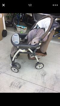 baby's black and gray stroller Raymore, 64083