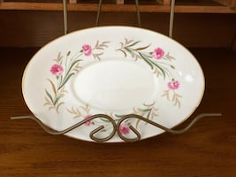 FREE with Purchase Vintage Paragon Camelot China Plate