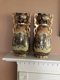 Two decorative vases