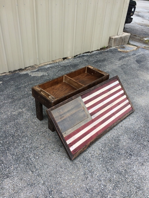 American ( USA ) Flag Table Wall Mount b11323cc-e22e-430f-992a-413452684a83