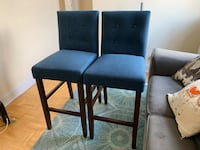 Barstools with back  New York, 10003