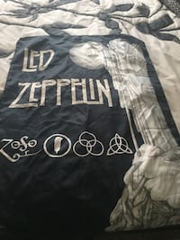 Silk banner Led Zepplin1994 28by 41