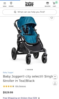 Baby's black and gray stroller New York, 11203