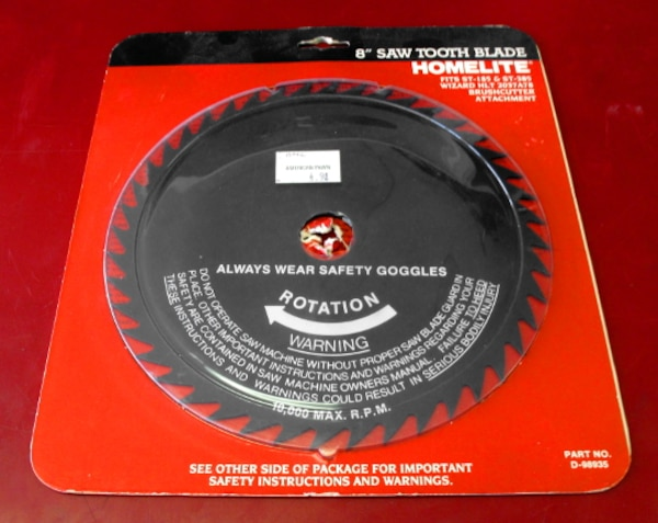 Homelite 8-Inch Saw Tooth Blade