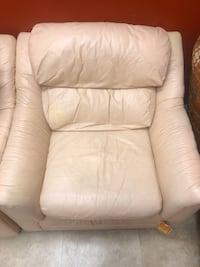 Used Leather Sofa Chair