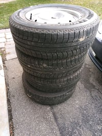 Used 2011 Subaru Outback Rims with Michelin Snow T Halton Hills, L7G 5N1