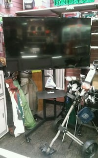 """55"""" Smart TV with rolling stand.  Louisville, 40202"""