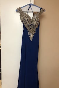 VERY DETAILED BLUE DRESS Mississauga, L5A 3T8
