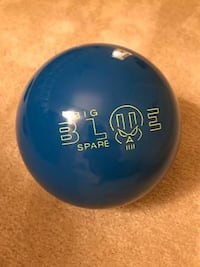 NEW UNUSED 16 Pound Hammer Big Blue Spare Bowling Ball