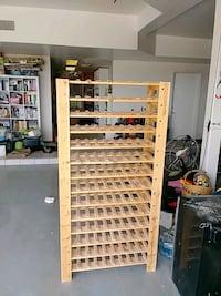 126 bottle wooden wine rack Tucson, 85749