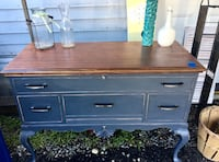 Cedar Chest refinished and updated--opens from top