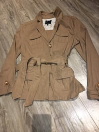 Linen safari jacket size M-good condition love this piece it's timeless