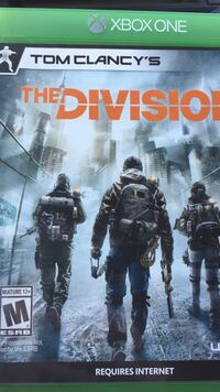 The Division Xbox One game case
