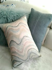 2 accent pillows from winners  30 for both Regina, S4R