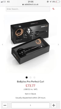 Babyliss pro hair curlers Manchester, M35 9DZ